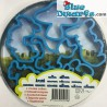 6 Smurf coockie cutters in metal box (Merison)