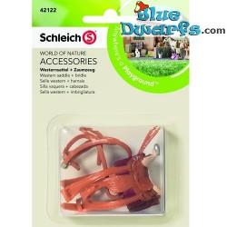 Schleich Horses: Show Jumping saddle + bridle (Schleich 42122)