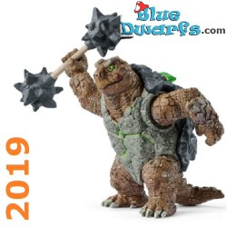 Eldrador 2019: Armoured turtle with weapon (Schleich 42496)