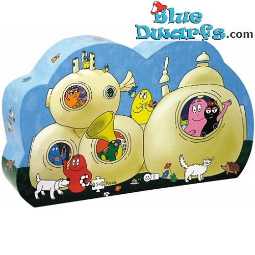Barbapapa Puzzle house (54 pieces)
