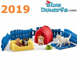 Schleich Farmlife: Doghouse with dogs  2019 (42480)