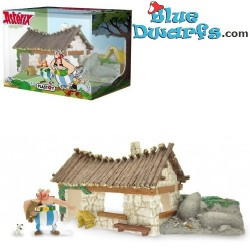 House Of Obelix with 1 figurine (Plastoy)