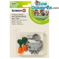Schleich Farmlife: Feeding rack + drinking trough (42127)