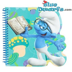 Notebook: Brainy Smurf  16x15 cm