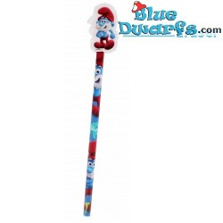 Smurf pencil papa smurf with eraser