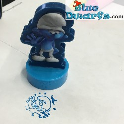 1x stamp Clumsy smurf Lost village