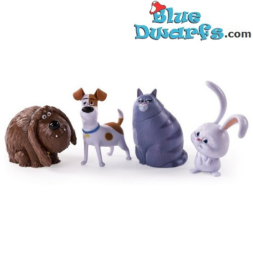 Secret Life Of Pets playset (Spinmasters, +/- 6,5cm)