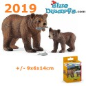 Schleich Wildlife: Grizzly bear set  (2019)