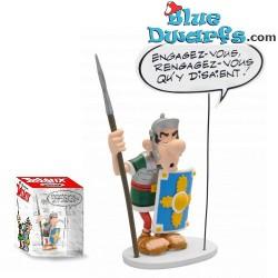 """Asterix Collection Bulles: """"Engagez-Vous"""" (Plastoy 2018)"""