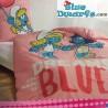 Smurf duvet cover smurfette (+/- 135x200)
