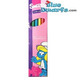 Smurf pencils smerfy