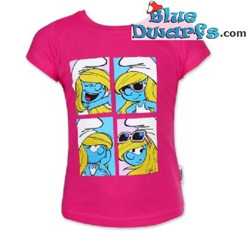 Smurfette smurf T-shirt for girls (Size 98)