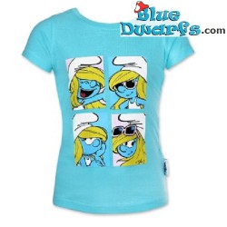 Smurfette smurf T-shirt for girls (Size 104)