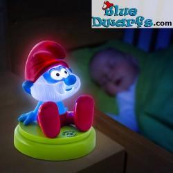 Smurf light *Mobile papa smurf* (+/- 12 x12cm)