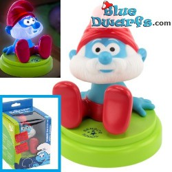 Smurf light *Mobile papa smurf* (+/- 12 x12cm)