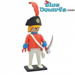 Playmobil Officier met rood kostuum (Plastoy 2018 +/- 25cm)