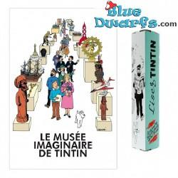 Statue Musée imaginaire tintin Poster (40x60 cm)