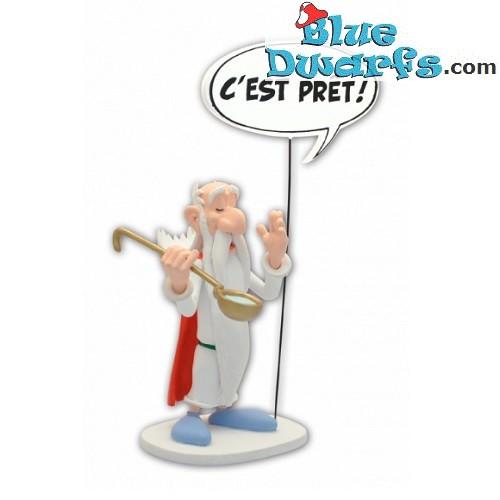 Asterix Panoramix with text: c'est prêt (Plastoy 2019)