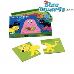 Barbapapa Puzzle funny animals (18  pieces)