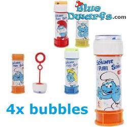 4x Smurf bubbles