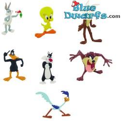 7x Looney Tunes playset  (Comansi, +/- 8cm)
