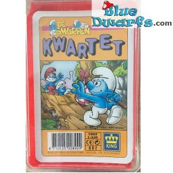 Quartet card game smurfs