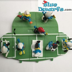 PROMO: Mc Donalds soccer Set 2006 (8 smurfs)