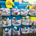 PROMO: Mc Donalds plush Set 2000 (12  smurfs)