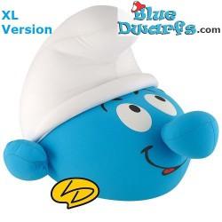 Smurf Plush: Smurf head pillow LEBLON DELIENNE (+/- 35cm)