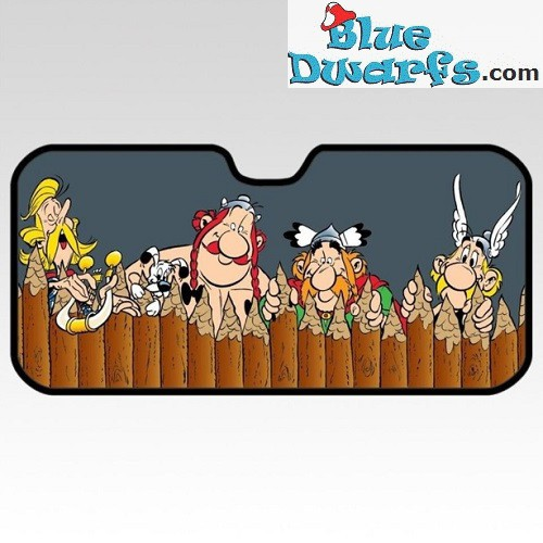 1 x side sunshades Asterix and Obelix (130x60 cm)