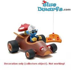 Race auto Smurf rood (Afstand bestuurbare Smurfen voertuig,SMR011)