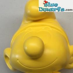 Plástico pitufo móvil *Global Smurfday pitufo* (2017, +/- 20 cm)