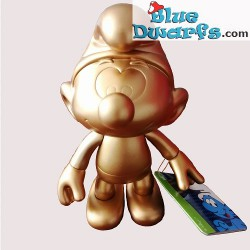 Plastic movable smurf *Global Smurfday Smurf* (reissue 2019, +/- 20 cm)