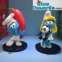 3 Newest Plastoy smurfs  (2017)