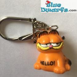 Keyring: 1x Garfield 3,5 cm (rubber)