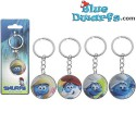 "4x keyring ""The lost village"" (35mm)"