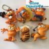 Garfield Bullyland +- 6cm  (6 figuurtjes)