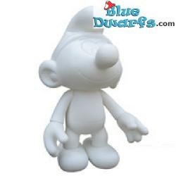 Plastic movable smurf *Unicef* (+/- 30 cm)