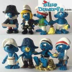 20760- 20767 (2014): Piraten smurfen (8 smurfen)