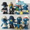 20760- 20767 (2014): Pirates Smurfs (8 smurfs)