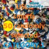 50 Schleich smurfs *Very good condition*