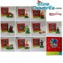 Garfield Bullyland +- 6cm (6 figurines)