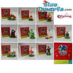 10x Efteling Super de Boer +- 5cm (10 figurines)
