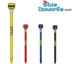 4x Power Rangers penna Funko