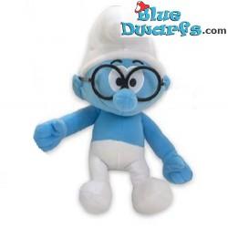 Smurf Plush: Brainy smurf (+/-38 cm)