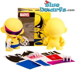 "Wolverine Kidrobot Marvel ""Create it yourself (+/- 17x19)"