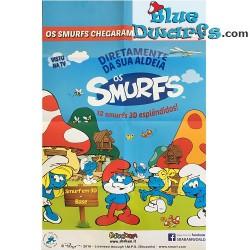 Smurf Poster SBABAM (66 x 43 cm)