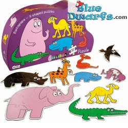 Barbapapa Puzzle 9 different animals (50 pieces)