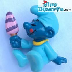 20206: Baby Smurf with Ice Cream: Yellow