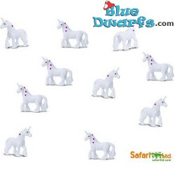10x Mini unicorn good luck mini (+/- 2 cm)